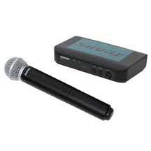 wireless hand held microphone rental