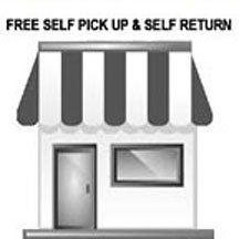 Self Pick Up & Return